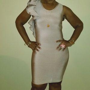 Fashion Nova Alysse Bandage Dress